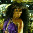Carnaval 2020: rainha de bateria da Mangueira, Evelyn Bastos surgiu fantasiada como uma versão feminina de Cristo. 'Não é um Jesus que samba'