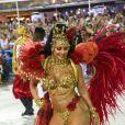 O Salgueiro de Viviane Araujo defendeu o enredo 'O Rei Negro do Picadeiro' e homenageou Benjamin de Oliveira, primeiro palhaço negro do Brasil