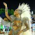 Sabrina Sato assumiu o posto de rainha da escola de samba Unidos de Vila Isabel após 9 anos à frente da bateria