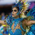 Lexa estreou como rainha de bateria da Unidos da Tijuca no Carnaval 2020 e levantou o público