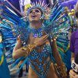 Lexa usou fantasia no valor de R$ 85 mil na estreia como rainha de bateria da Unidos da Tijuca no carnaval 2020