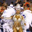 Raíssa de Oliveira é rainha de bateria da Beija-Flor de Nilópolis há 18 anos