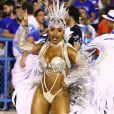 Raíssa de Oliveira, rainha de bateria da Beija-Flor, tem 29 anos, 18 deles à frente dos ritmistas da escola de samba carioca