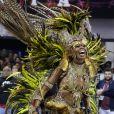 Carnaval de São Paulo: Ivi Mesquita é musa da Vai-Vai
