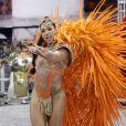 Carnaval de São Paulo: Dani Bolina é rainha de bateria da Unidos de Vila Maria ao lado de Savia David