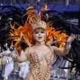Carnaval de São Paulo: Ana Paula Minerato é musa da escola Acadêmicos de Tatuapé