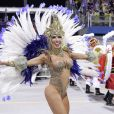 Carnaval de São Paulo: Tati Minerato, musa da escola Águia de Ouro, volta a desfilar neste sábado, 29 de fevereiro de 2020