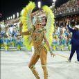 A apresentadora Lívia Andrade minimizou a cobrança por uma corpo magro no Carnaval
