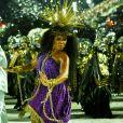 Rainha da Mangueira, Evelyn Bastos alertou sobre os feminícidios