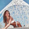 Anitta usou looks na moda durante suas férias