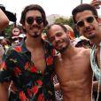 Novo affair de Anitta, Gabriel David foi ao bloco da cantora no Carnaval