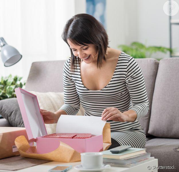 Compras online: nada mais prático do que receber os produtos em casa depois de tanta expectativa