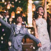 Junior Lima e Monica Benini se casam em São Paulo: 'Tamanha felicidade'