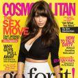 Kim Kardashian diz que à revista amerciana 'Cosmopolitan' que Kanyew West é seu melhor amigo, em 27 de fevereiro de 2013