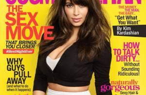 Kim Kardashian é capa de revista e fala sobre Kanye West: 'Meu melhor amigo'