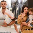 Mariana Uhlmann e Felipe Simas são pais de Joaquim, Maria e Vicente