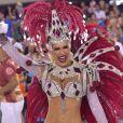 Lorena Improta foi musa da Viradouro, escola de samba campeã do carnaval do Rio