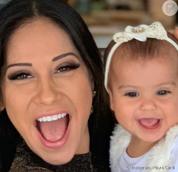 Em foto com a filha, Mayra Cardi fez desabafo: 'Gente triste faz gente triste'