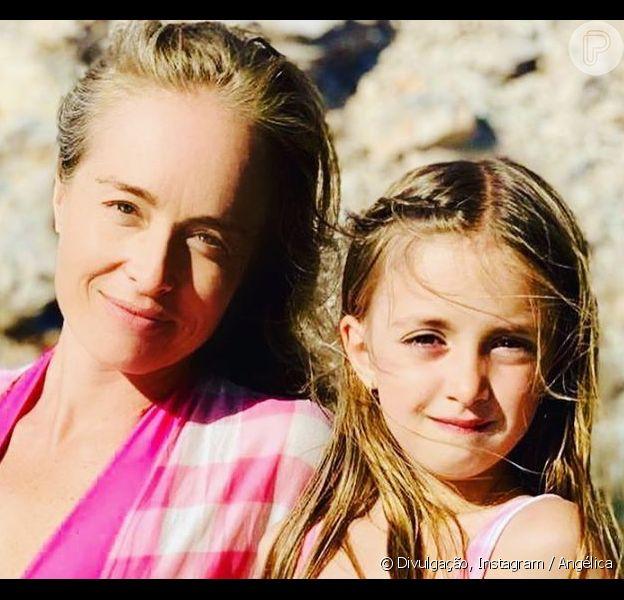 Angélica escreve carta emocionante para a filha, Eva, em 9 de maio de 2020
