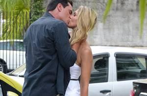 'Salve Jorge': Théo (Rodrigo Lombardi) e Érica (Flávia Alessandra) reatam namoro