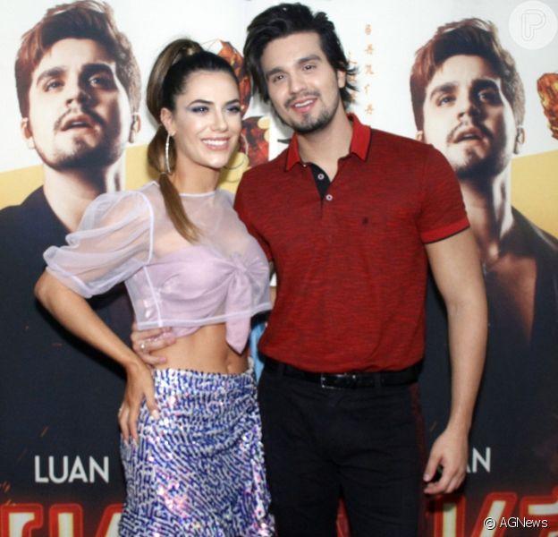 Luan Santana adiou casamento com Jade Magalhães devido ao coronavírus