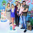 Zé Neto se emocionou com nascimento da seguna filha, Angelina