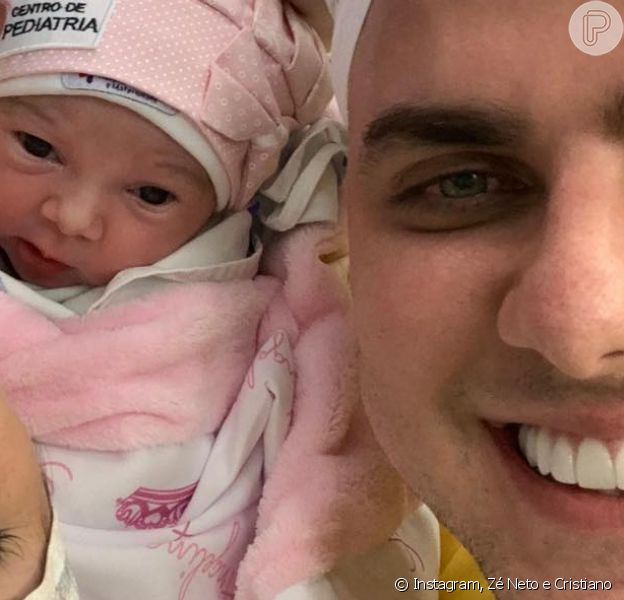Zé Neto é pai de novo! Nasce Angelina, 2ª filha do cantor e Natália Toscano nesta terça-feira, dia 19 de maio de 2020