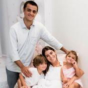 Festa dupla! Mulher de Felipe Simas comemora 29 anos e mesversário do caçula