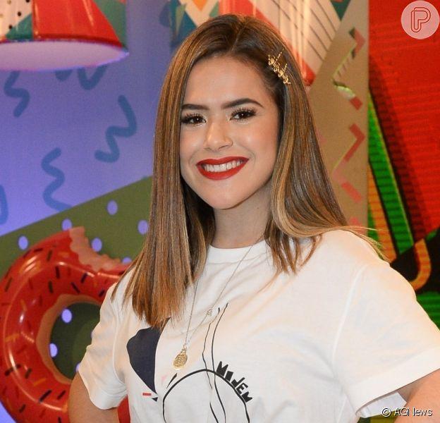 Aniversário de Maisa Silva teve choro, homenagem de Luan Santana e meme