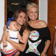 Xuxa comemorou os 25 anos de sua fundação