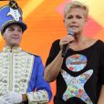 Xuxa Meneghel comandou nesta tarde de terça-feira, 28 de outubro de 2014, os 25 anos da su fundação
