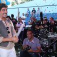 Junno Andrade na festa dos 25 anos da Fundação Xuxa Meneghel
