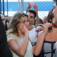 Sasha Meneghel se emociona na festa dos 25 anos da Fundação Xuxa Meneghel
