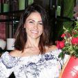 Suzana Alves recebeu críticas ao assumir o cabelo branco