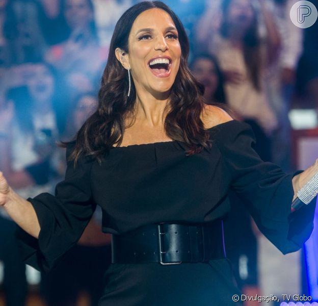Ivete Sangalo promoveu um beijaço de casais famosos em seu novo clipe