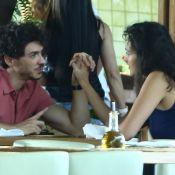 Débora Nascimento faz 35 e recebe declaração do namorado, Luiz Perez: 'Sapeca!'