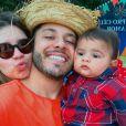 Filho de Marília Mendonça e Murilo Huff ganhou festa com tema junino dos pais