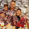 Zé Neto e Natália Toscano promovem festa temática junina para festejar 1 mês da filha, Angelina