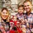 Zé Neto e Natália Toscano comemoram 1° mês de vida da filha, Angelina