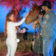 Maiara ganhou cavalo do namorado, Fernando Zor
