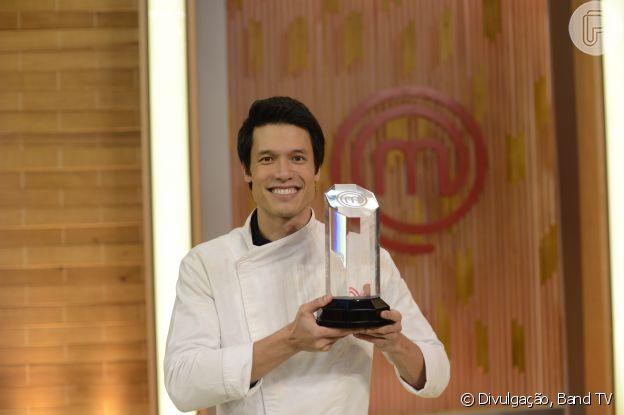 Leonardo Young venceu terceira temporada do 'MasterChef'