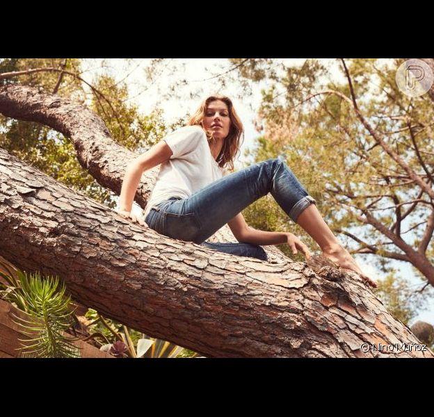 Em seu aniversário de 40 anos, Gisele Bündchen vai plantar 40 mil árvores na Amazônia