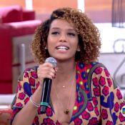 Grávida, Taís Araújo revela desejo na gestação: 'Sorvete de limonada suíça'