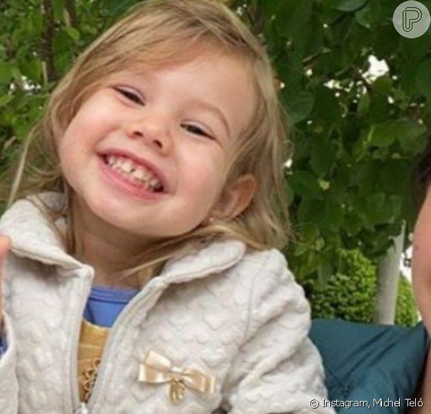 Filha de Thais Fersoza e Michel Teló divertiu a mãe ao confundir seu aniversário com Dia das Mães