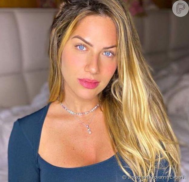 Giovanna Ewbank tem mudança apontada pela filha, Títi, após nascimento do 3º filho. Confira vídeo postado nesta quinta-feira, dia 30 de julho de 2020.
