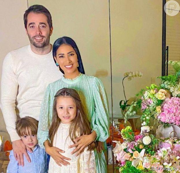 Simaria comemora aniversário de 8 anos da filha, Giovanna, em 1 de agosto de 2020