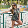 Suzanna Freitas não sai gastando fortuna em roupas