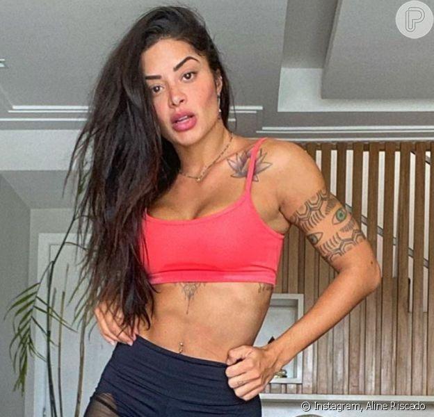 Aline Riscado conta que ganhou 6 kg na quarentena