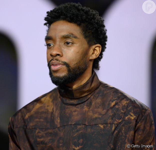 Chadwick Boseman morre, aos 42 anos, vítima de câncer no cólon, nesta sexta-feira, 28 de agosto de 2020