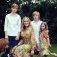 Angélica e os filhos Joaquim, Benício e Eva preparam festa surpresa pelos 49 anos de Luciano Huck